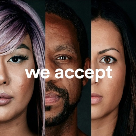 #WEACCEPT AIRBNB