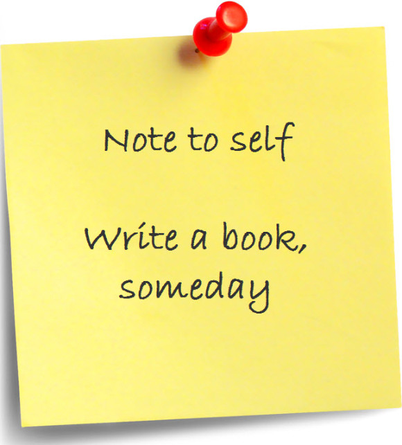 Post it write a book someday