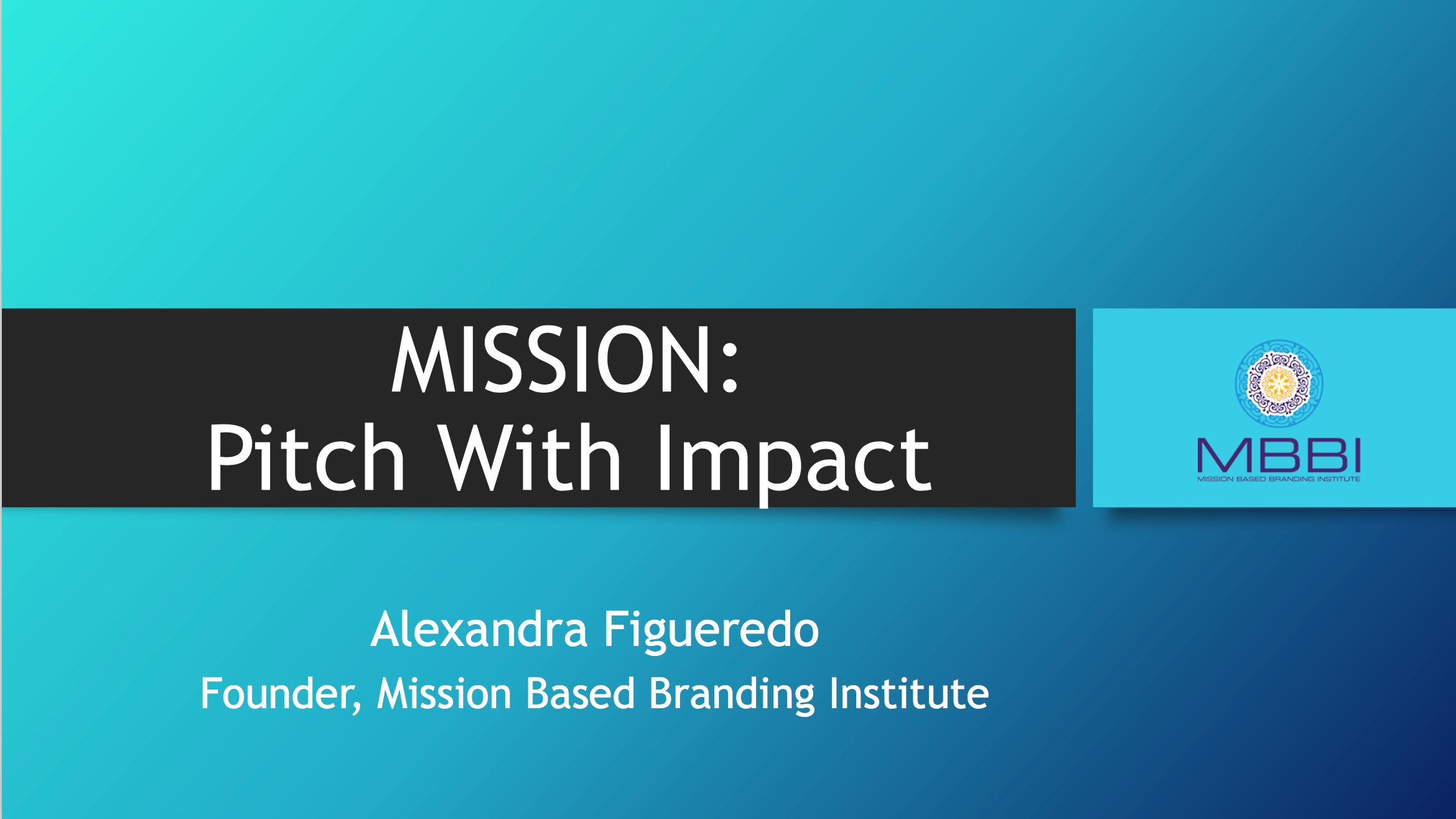 Mission Pitch With Impact Front Cover