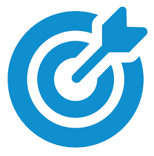 blue target icon
